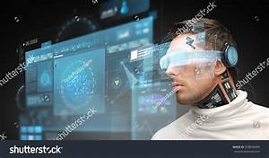 Augmented Reality Technology Business Future People Stock ...