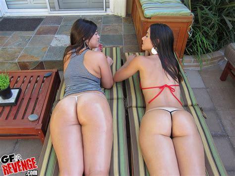 Two fucking super hot big ass latinas in bikini - Pichunter