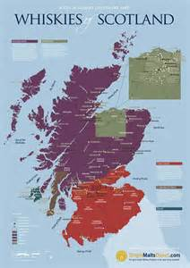 Scotch Whisky Distillery Map