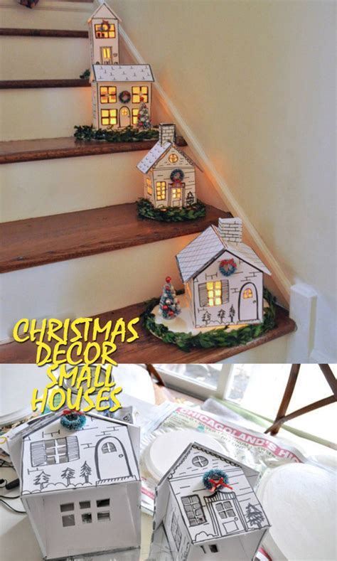 christmas decor small houses good house wife