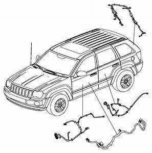 2008 Jeep Grand Cherokee Wiring  Liftgate   Parkview Tm