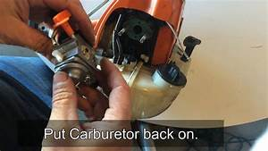 How To Adjust The Carburetor On A Husqvarna Weed Eater