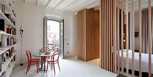 separation piece sans percer maison design bahbecom With meuble pour separer cuisine salon 1 6 idees pour diviser un studio joli place