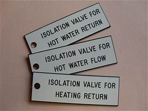 identification labels engraved valve discs traffolyte With engraved electrical panel labels