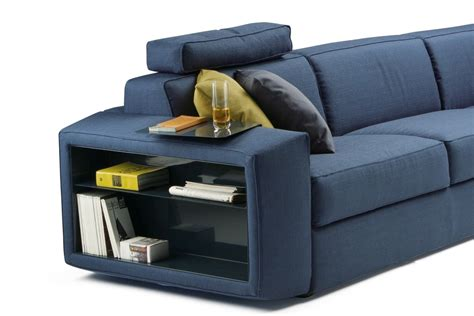 Melvin Sofa Bed Side Bookcase