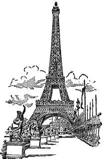 eiffel tower clipart