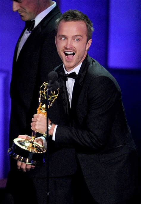 aaron paul wins emmy 2010 breaking bad s aaron paul wins emmy aaron paul zimbio