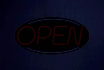 Open Sign Led Neon Signs Oval Modes
