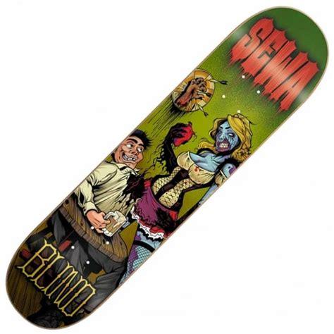 blind skateboards sewa zombie skateboard deck 7 75