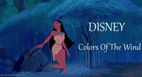 color of wind disney colors of the wind lyrics