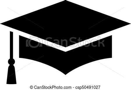 14995 graduation cap icon vector graduation cap vector icon on white background vector