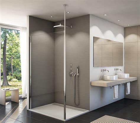glasabtrennung dusche feststehend freistehende duschabtrennung 100 x 200 cm dusche feststehende wand