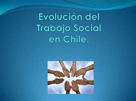 si鑒e social de evolucion trabajo social en chile e