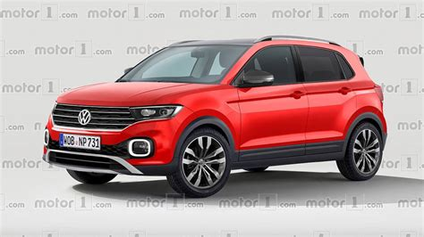 vw polo t cross vw t cross render imagines the cutest polo crossover