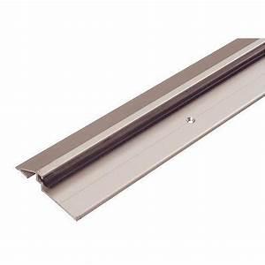 Seuil aluminium 4113 complet pour garage ou porte d for Porte de garage coulissante avec porte d entrée pvc castorama