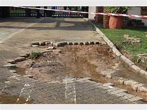 Flash flood caused damage in the South of Johannesburg ...