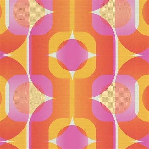 orange retro wallpaper uk gallery