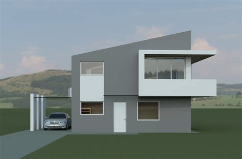 18 Simple Modern House Model Ideas Photo