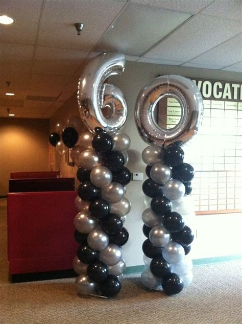 Black 50th Birthday Decorations by Best 25 60th Birthday Party Ideas On Pinterest 60