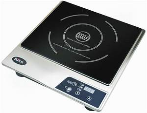 Induction Cooktop Portable Countertop Single Burner ...