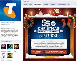 Telstra launches 55 day countdown to Christmas Mumbrella