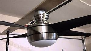 Hampton Bay Ceiling Fan Dual Light With Remote Fan28r240w