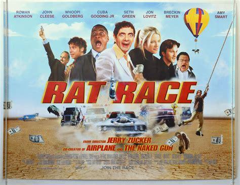 rat race original cinema  poster  pastposters