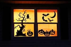 Halloween Sachen Basteln : spukhafte halloween deko ideen mit gruseligen silhouetten ~ Whattoseeinmadrid.com Haus und Dekorationen