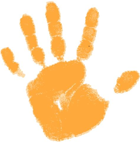 Handprint Clipart Handprints Clipart Best