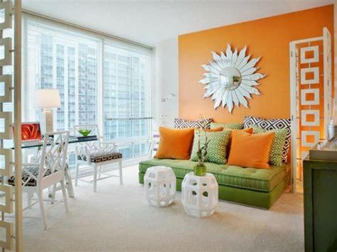 Wandgestaltung Kinderzimmer Orange by W 228 Nde Streichen Farbideen F 252 R Orange Wandgestaltung
