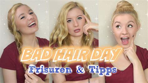 schnelle einfach frisuren fuer einen bad hair day tipps