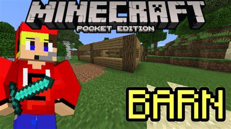 Minecraft Pe Barn by Minecraft Pe Survival Let S Play Ep 4 Barn