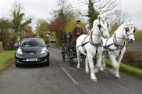 horse carriage electric horsepower cars versus power behind easier carbuyer ago years