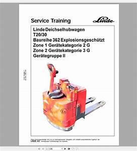 Linde Forklift 2020 6 08gb Pdf Circuit Diagrams  U0026 Service
