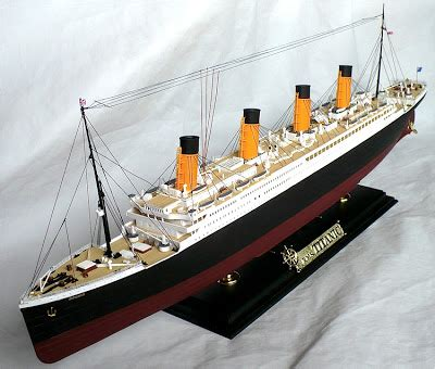 the great canadian model builders web page r m s titanic
