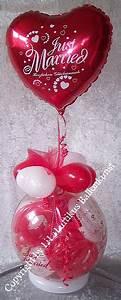Geschenk Verpacken Folie : geschenk im ballon hochzeit mit folie just married geldgeschenk ~ Orissabook.com Haus und Dekorationen