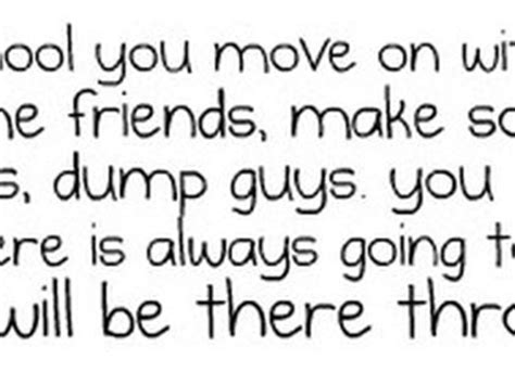 quotes about leaving secondary school