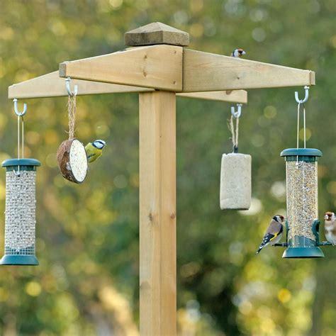 free standing bird feeder station bird feeders