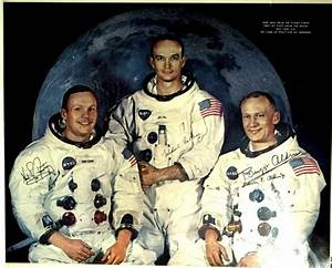 Astronaut BUZZ ALDRIN - Apollo 11 Poster Signed
