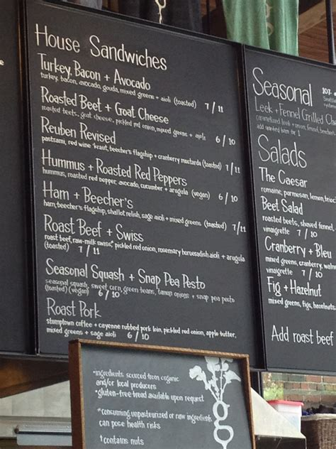 Find & download free graphic resources for coffee menu. A Vegetarian in Seattle (Homegrown Sustainable Sandwich Shop | Coffee shop menu, Sandwich shops ...