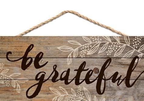 grateful hanging wood sign  primitive star