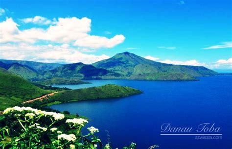 wisata danau toba danau vulkanik terbesar  dunia