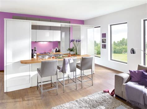 deco cuisine salon beau decoration salon avec cuisine ouverte avec idee