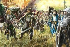 Eomer and Aragorn by Abe Papakhian  Kącik rohańskiej adoracji Fan Art (36841515)  Fanpop