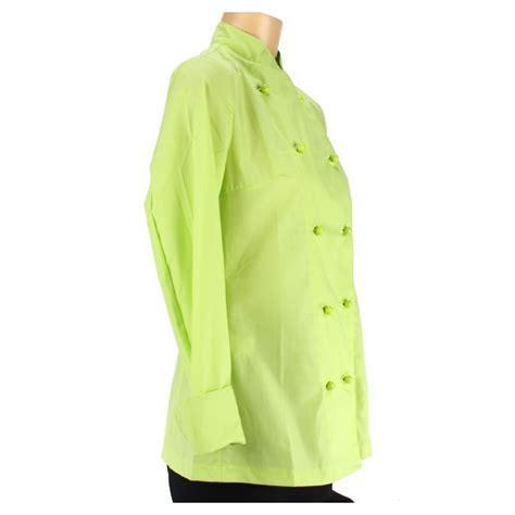 vetement de cuisine discount vetement cuisinier pour femme couleur verte lisavet