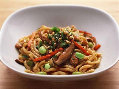 chicken  vegetable stir fry  udon noodles recipe