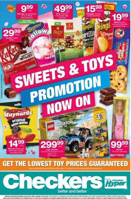 checkers sweets promotion  jul   jul  find