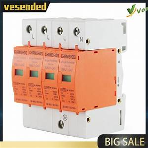 4p Home Residual Current Circuit Breaker House Surge