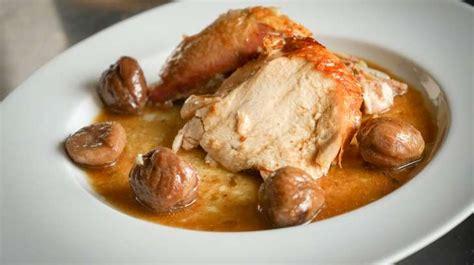 cuisiner pour 10 personnes dinde farcie aux marrons recette de dinde aux marrons