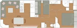 Plan Dressing En U : location mobil home r sidentiel mobil home louisiane gamme r sidentielle camping la pin de ~ Melissatoandfro.com Idées de Décoration